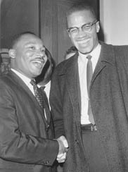 an introduction to the comparison of martin luther king jr and malcolm x Comparison of malcolm x and martin luther king jr in the civil rights movement martin luther king, jr and malcolm x comparison of malcolm x and martin.